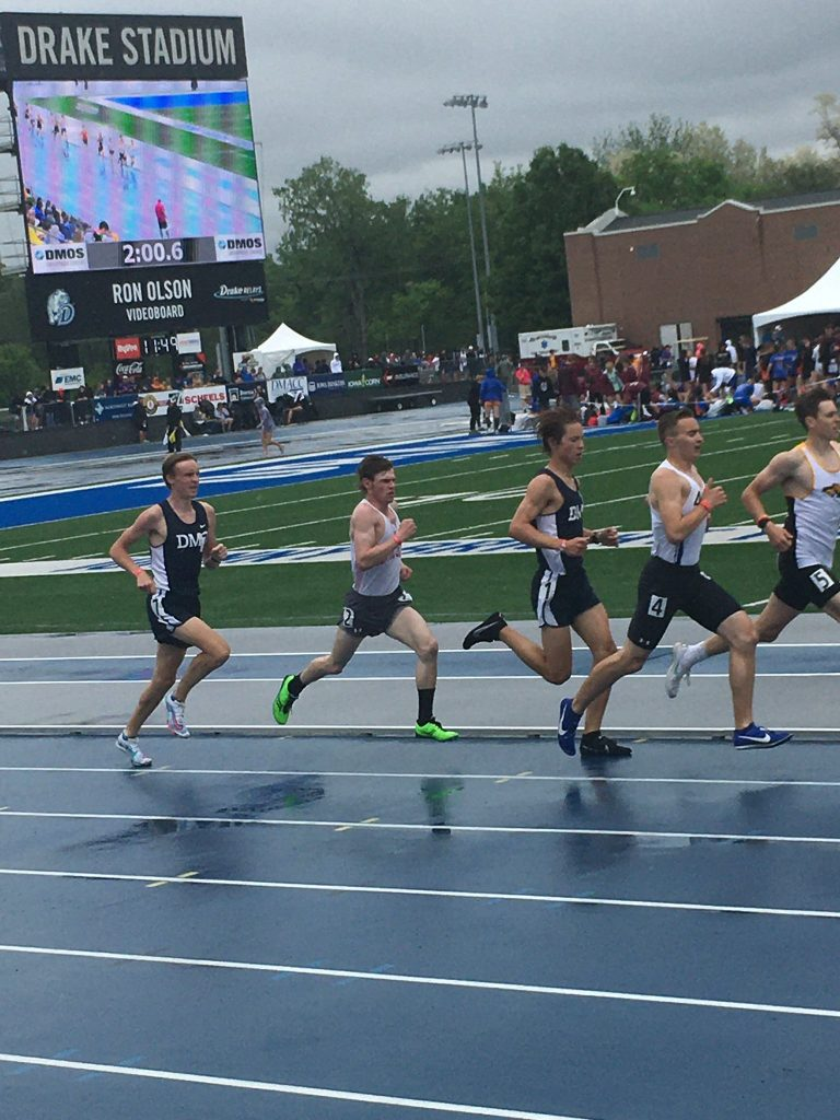 Will Gillis running at state