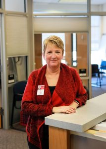 Elementary Office Manager Welcomes Students and Staff