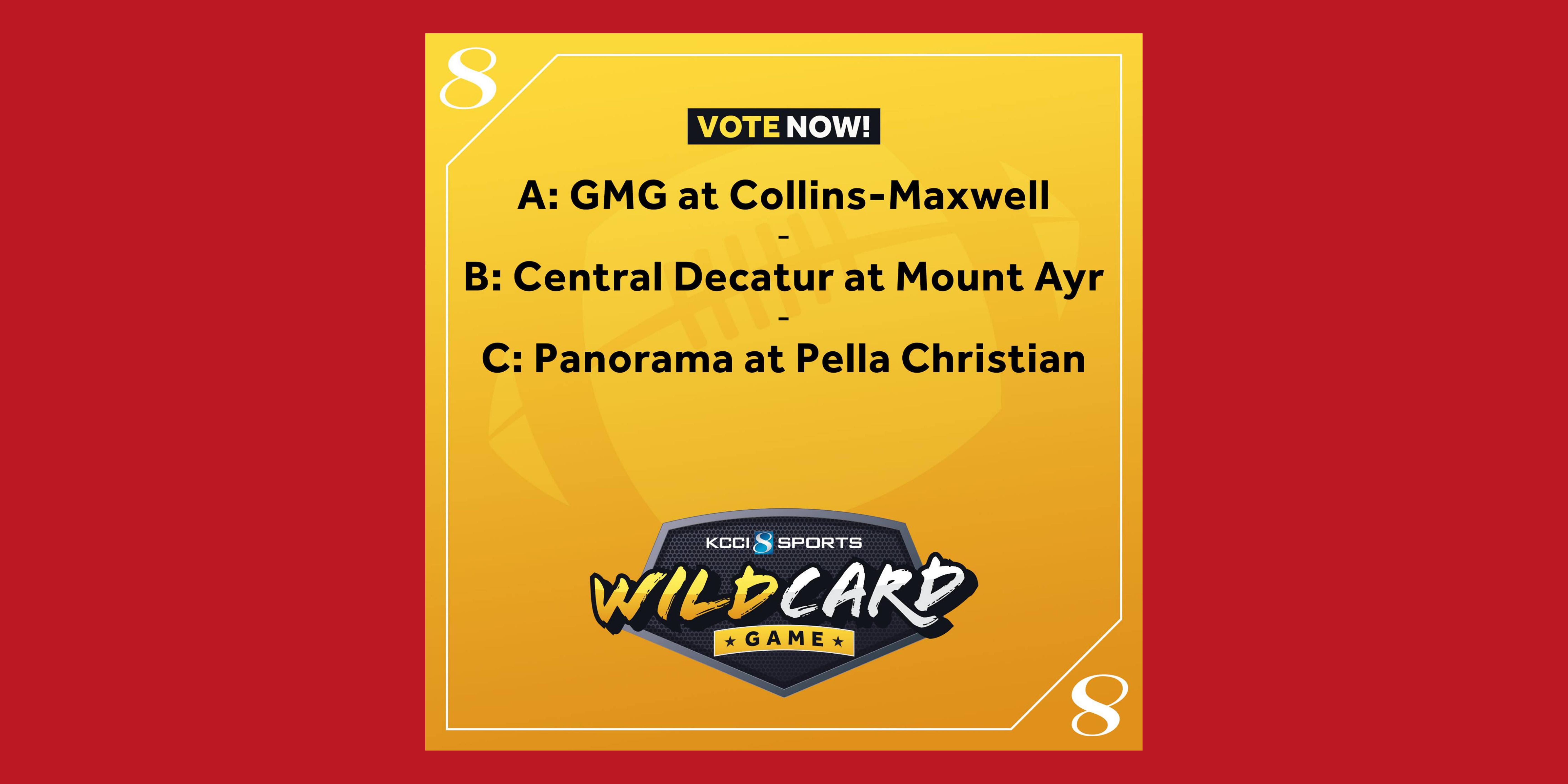 Kcci wild card game week 2 cd v mt ayr (1)